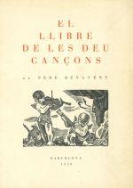 El llibre de les deu cançons de Pere Benavent