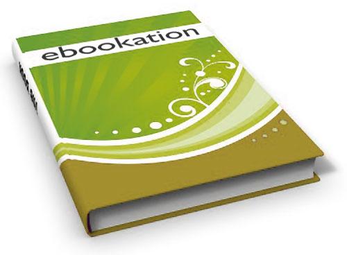 Creación de imágenes de libros 3D fotorealistas